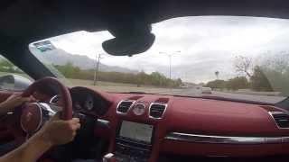 PORSCHE CAYMAN S 2014 vs  BMW MOTORCYCLES