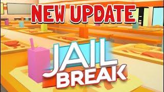 JAILBREAK PRISON UPDATE & FREE MILITARY JEEP REVIEW!!! (ROBLOX JAILBREAK)