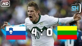 Slovenia vs Lithuania 4-0 World Cup Qualifiers All Goals and Highlights September 4,2017