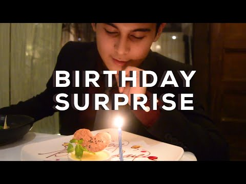 VLOG 1: Birthday Surprise for Sean | Ashley Garcia