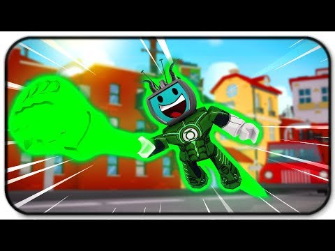 Becoming Green Lantern - Using My Imagination To My Advantage - Roblx Injustice Online Adventure - 동영상