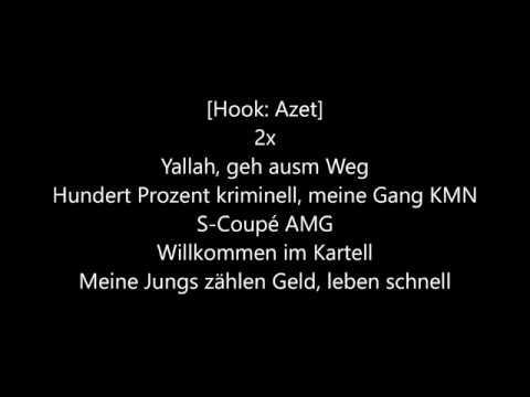 AZET x ZUNA x NASH - KARTELL (LYRICS)