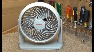 Clean and Service Honeywell HT804 Turbo Fan