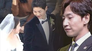 Heartwarming Letter From Lee Kwang Soo to Song Joong Ki his Wedding Ceremony thumbnail