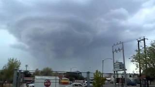 Intento de tornado en monclova coahuila
