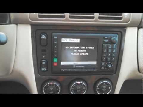 Mercedes w163 comand ausbauen doovi for Mercedes benz ml320 radio code