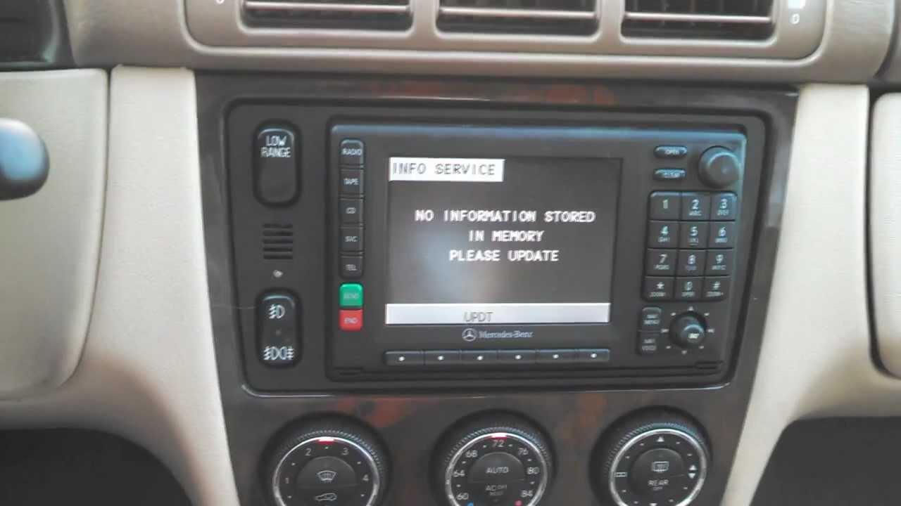 Mercedes ML350 OEM Audio System  YouTube