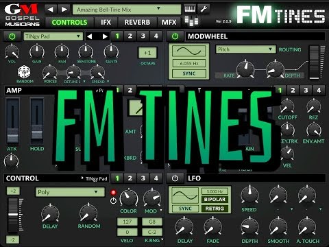 FM TINES by Gospel Musicians - The Ultimate EP Library - Demo for the iPad