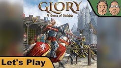 Glory: A Game of Knights - Brettspiel - Let's Play mit Peat & Alex