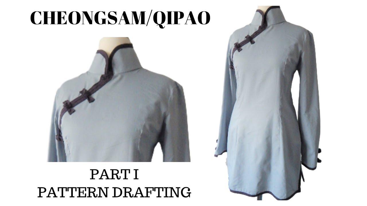 How to draft pattern cheongsamqipao part i youtube how to draft pattern cheongsamqipao part i jeuxipadfo Choice Image