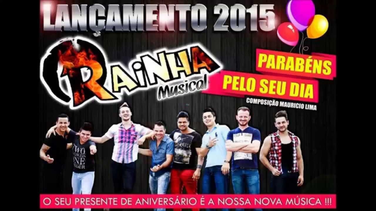Parabéns pelo seu dia-RAINHA MUSICAL(Lançamento 2015)