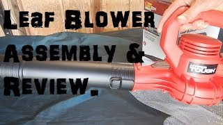 Hyper Tough 7.5 Amp Leaf Blower Open Box Review