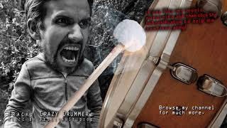 The Crazy Drummer Epic Dramatic Background Drums Music for videos Dark Dramatic soundtrack score