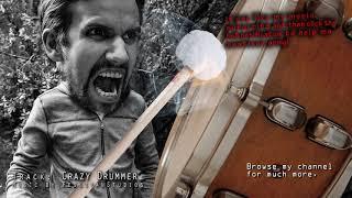 The Crazy Drummer - Super Epic Drums - Dark Dramatic soundtrack score - BIG DRUMMING
