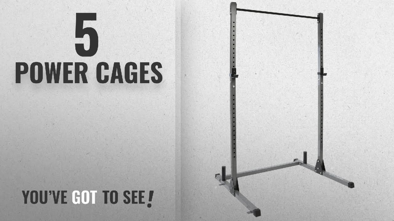 Top 10 Power Cages 2018 Dtx Fitness Squat Rack Power