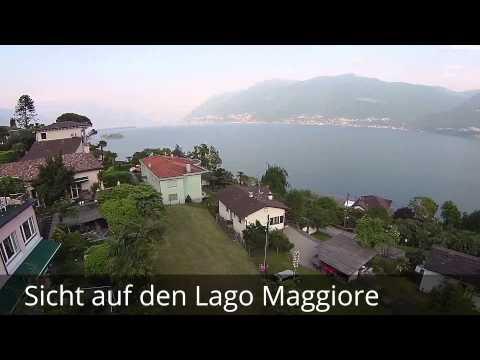 Luxusimmobilie in Brissago am Lago Maggiore Penthouse mit Zweitwohnungsbew. Schweiz Balde 350 QX