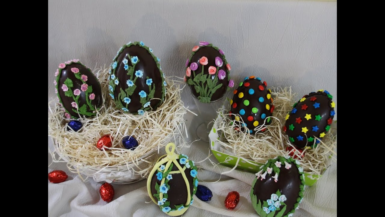 decoraci n de huevos de pascua youtube