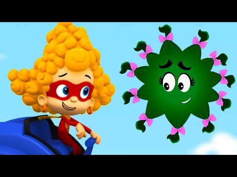 Gil & Molly with Bubble Guppies in a funny hair style story! The game on the cartoon Nick Jr.