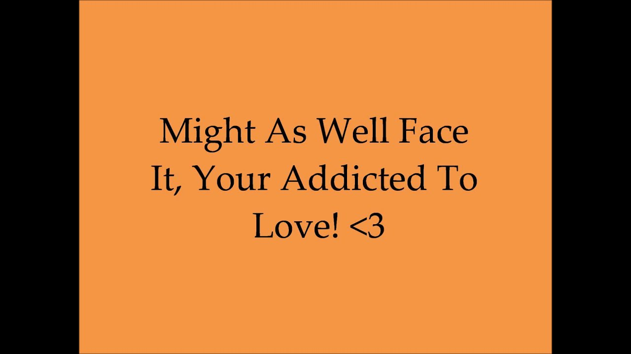 Might As Well Face It Im Addicted To Love  >> Robert Palmer Addicted To Love Song And Lyrics Youtube