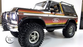 Visual Upgrades from RC4WD | TRX4 Ford Bronco | تزويد فورد برونكو