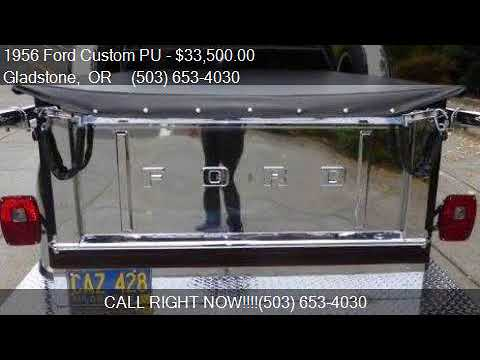 1956 Ford Custom PU  for sale in Gladstone, OR 97027 at Affo