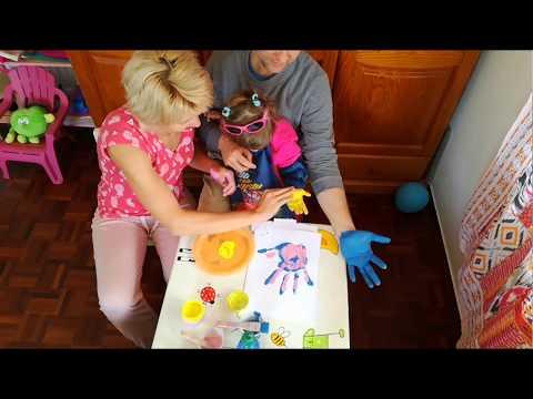 Семейное творчество. Чем занять ребенка дома.