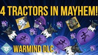 4 TRACTOR CANNONS IN MAYHEM! WARMIND DLC - DESTINY 2
