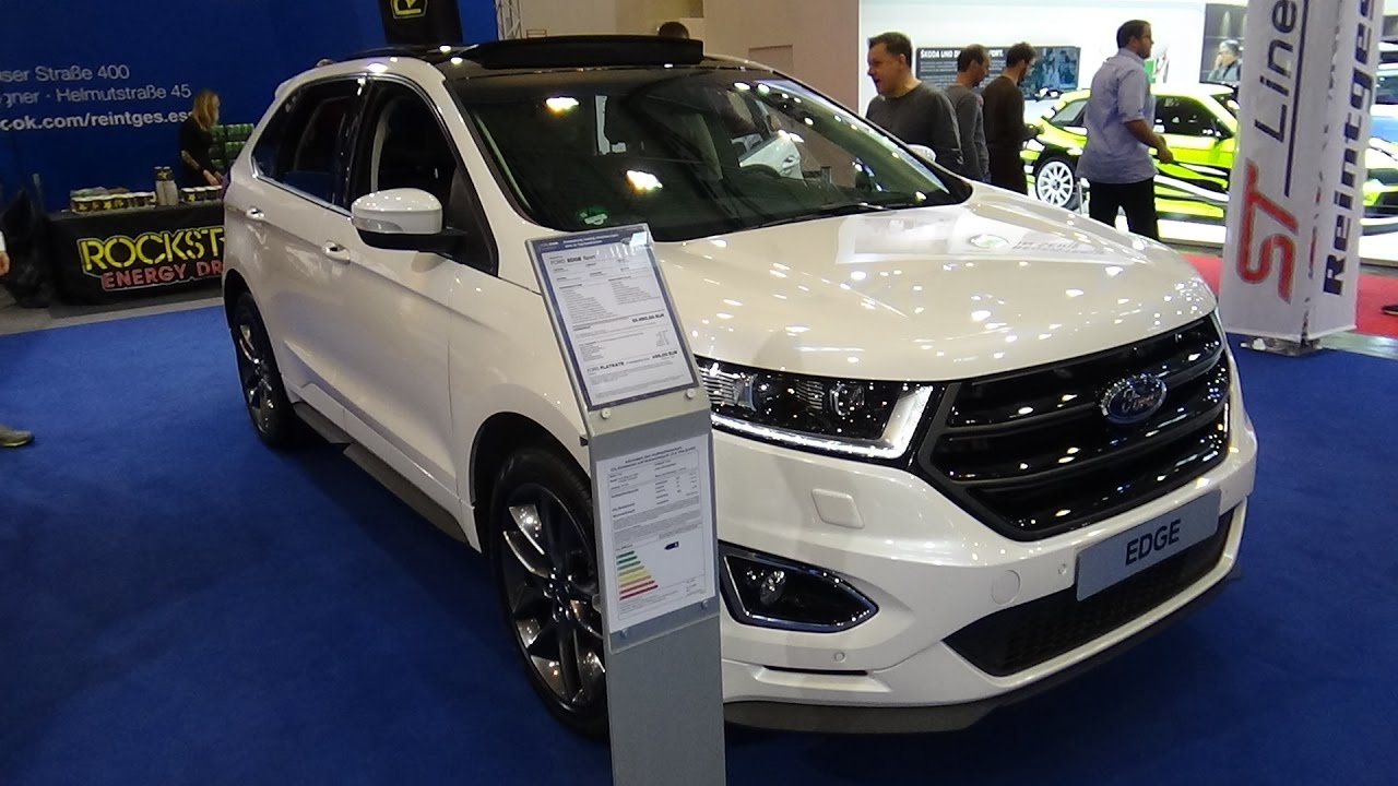 2017 ford edge sport exterior and interior essen motor show 2016 youtube