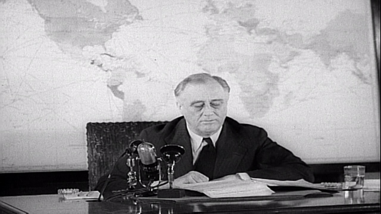 pearl harbor and fdr December 7, 1941, now known as pearl harbor day, arrived as the country remained hopeful for peace president franklin roosevelt reacted to the intense day with.