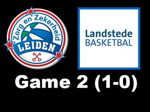 Zorg en Zekerheid Leiden - Landstede Zwolle (game 2, 1-0) (26 apr. 2017)