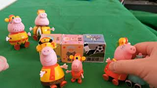 Educational Game Play - Storytelling Game with Peppa Pig's family