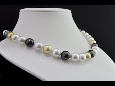 Best choice of Tahitian Pearl Necklace - M. Legrand Jewelry
