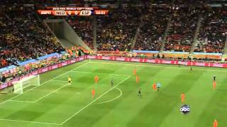FIFA World Cup 2010 Final Netherlands vs Spain