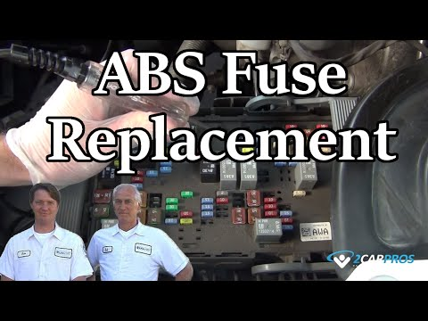 ABS Fuse Replacement - YouTube