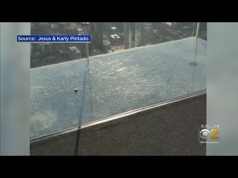 Eric Hunter - Chicago's Willis Tower Skydeck Cracks Under Visitors' Feet