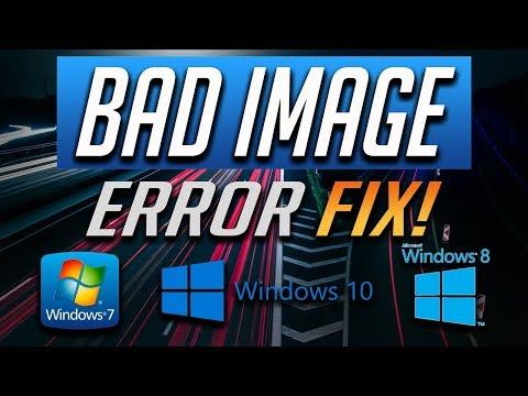 Fix Bad Image - Error Status 0xc000012f in Windows 10/8/7 [2019 Solution]