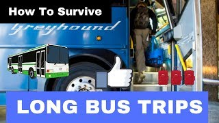 Tips on Taking Long Trips on Greyhound