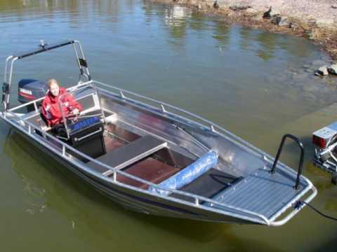 Самодельные алюминиевые лодки