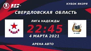Звезда (г.Екатеринбург) – Шайба (г.Екатеринбург) | Лига Надежды (4.03.21)