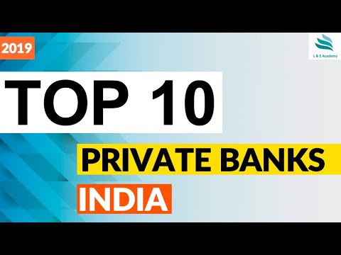 Top 10 Private Sector Banks in India 2019 ?