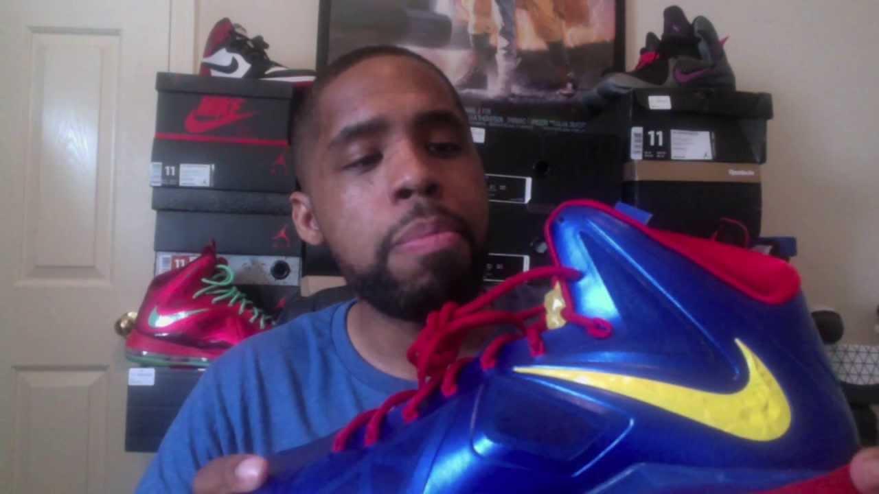 "Lebron 10 Nike ID ""Superman/Man of Steel"" Review + On Feet ..."