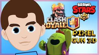 Brawl Stars, Pixel Gun 3d, Clash Royale - Powrót