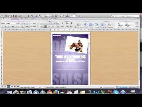 Tuto apprenez r aliser un flyer en moins de 10 minutes - Comment faire une brochure sur open office ...