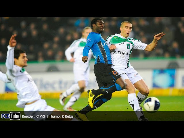 2010-2011 - Jupiler Pro League - 16. Club Brugge - Cercle Brugge 0-1