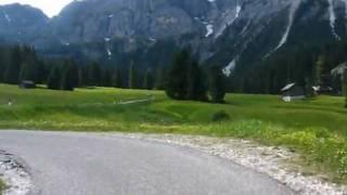 Climb to Passo delle Erbe-Wrzjoch 1987m