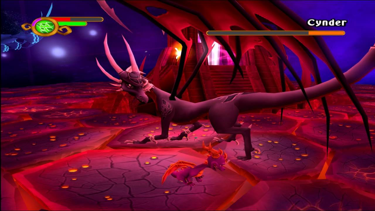 Cynder Fight Melee Only (The Legend of Spyro: A New Beginning ...