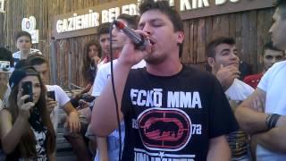Hidra - Sendele ( LİVE - İzmir Rap Saati Organizasyon Vol 11)