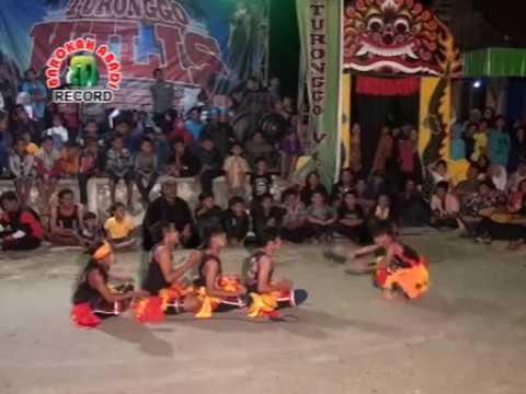 Bujang Ganong Lucu - Turonggo Wilis #barokahabadi