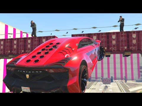 Thumbnail: MARIO vs SNIPERS - GTA 5 Funny Moments #647
