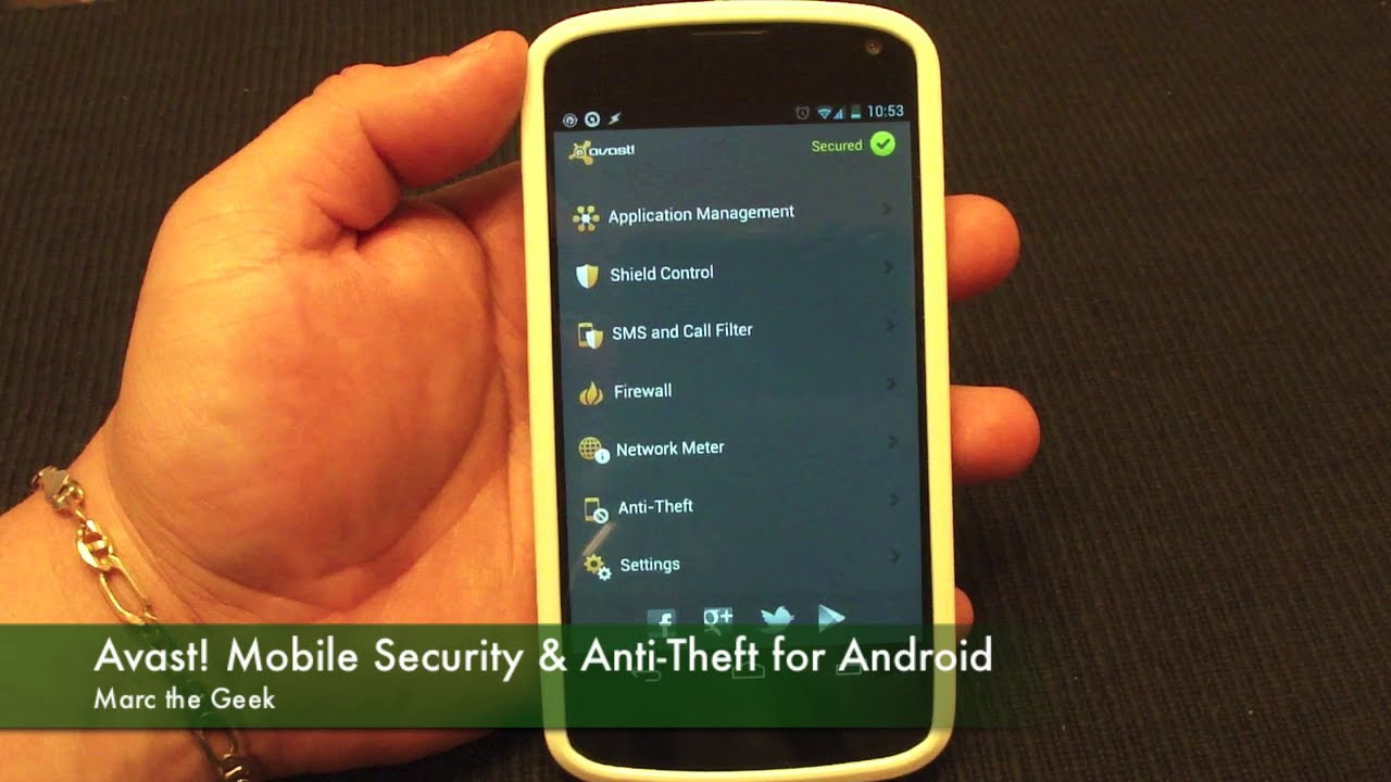 Camera Security For Android Phones avast mobile security anti theft for android phones tablets tablets